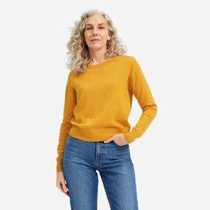 Everlane The Cotton–Merino Crewneck Sweater